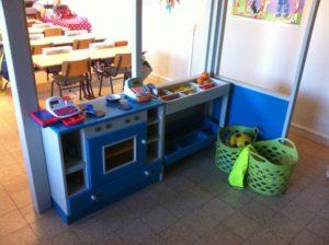 Keuken mezzanine